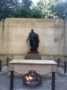 Memorial to the Unknown Soldiers of the American Revolution.