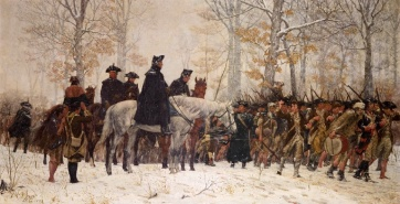March into Valley Forge