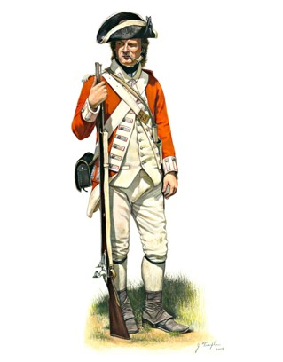 43rd regiment of foot Small